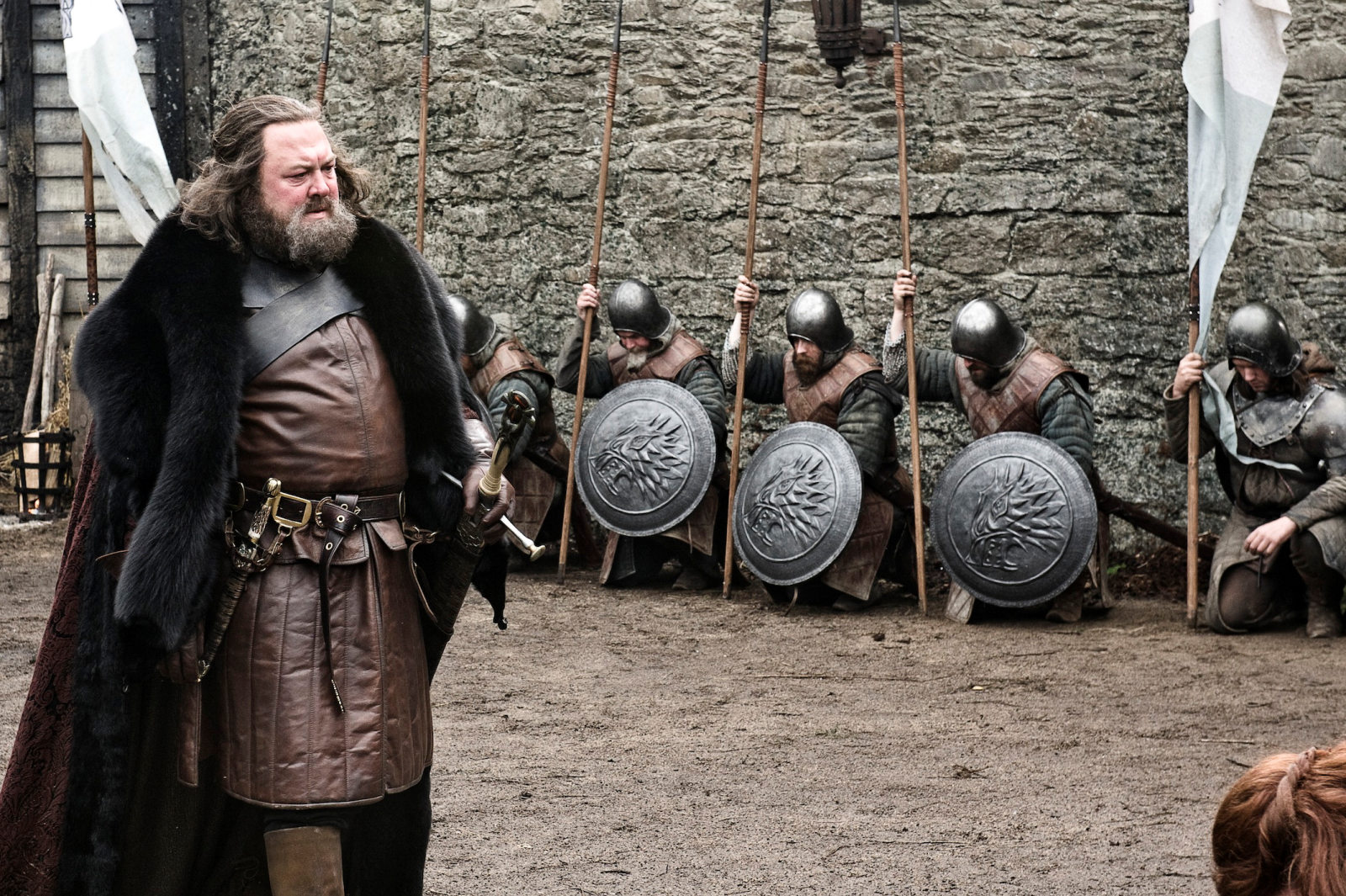 Mark Addy at Winterfell 2018 in Northern Ireland