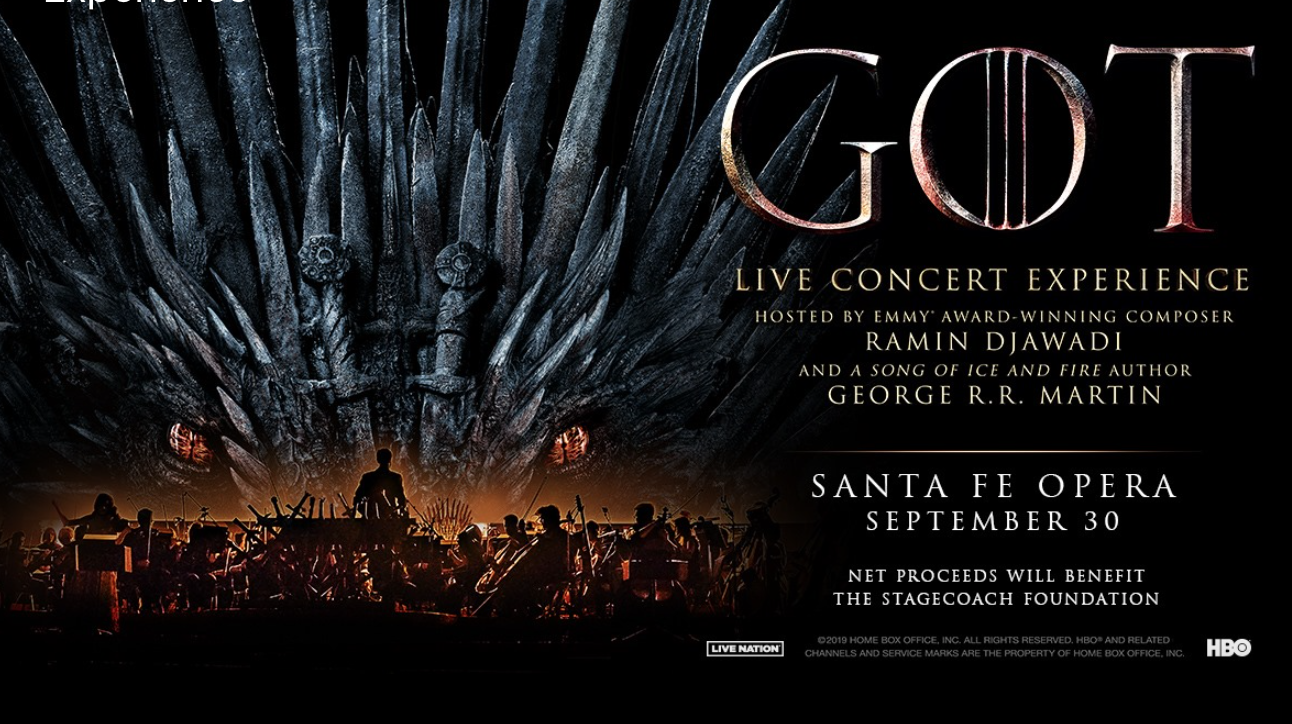 Game of Thrones Live Concert Experience in Santa Fe