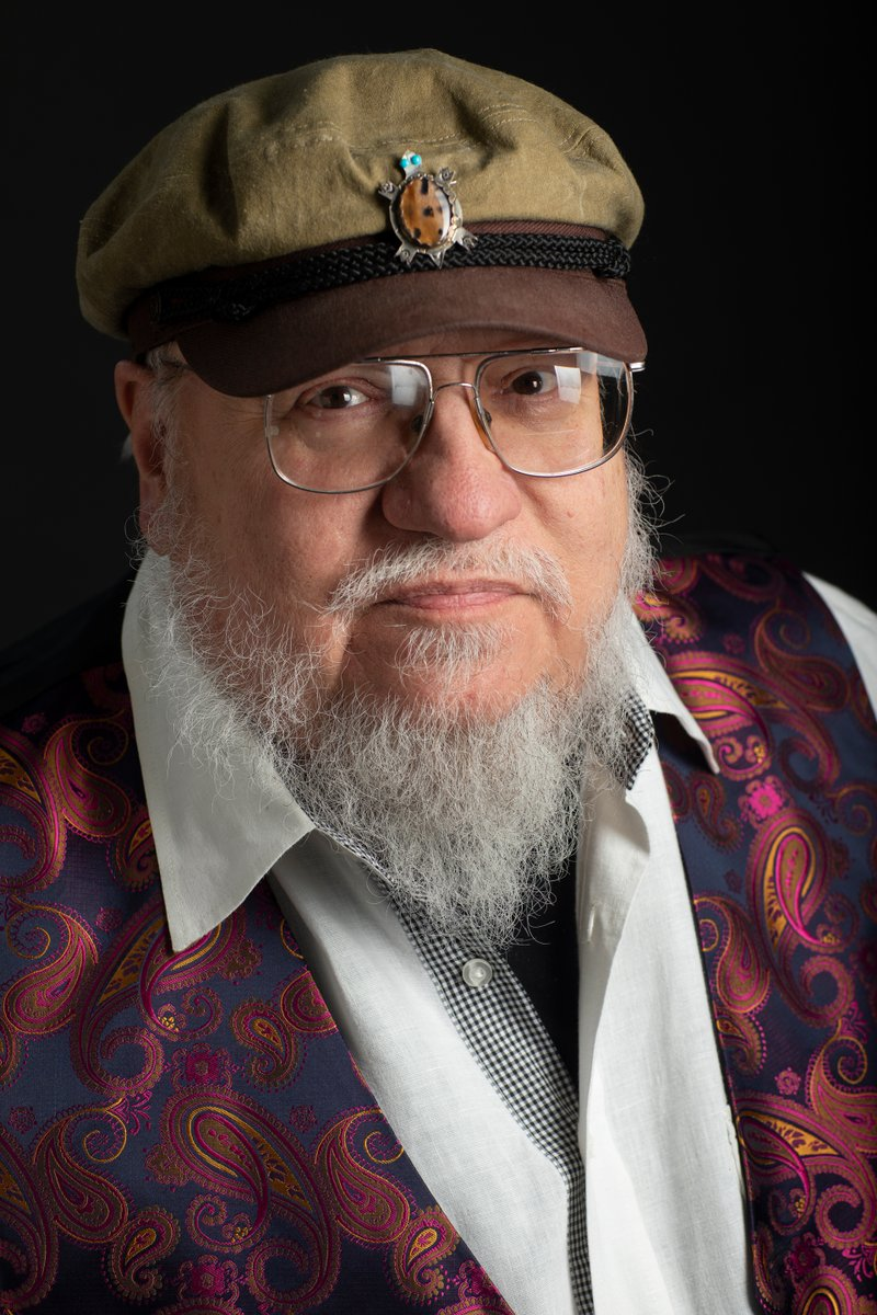 GRRM on the Red Carpet
