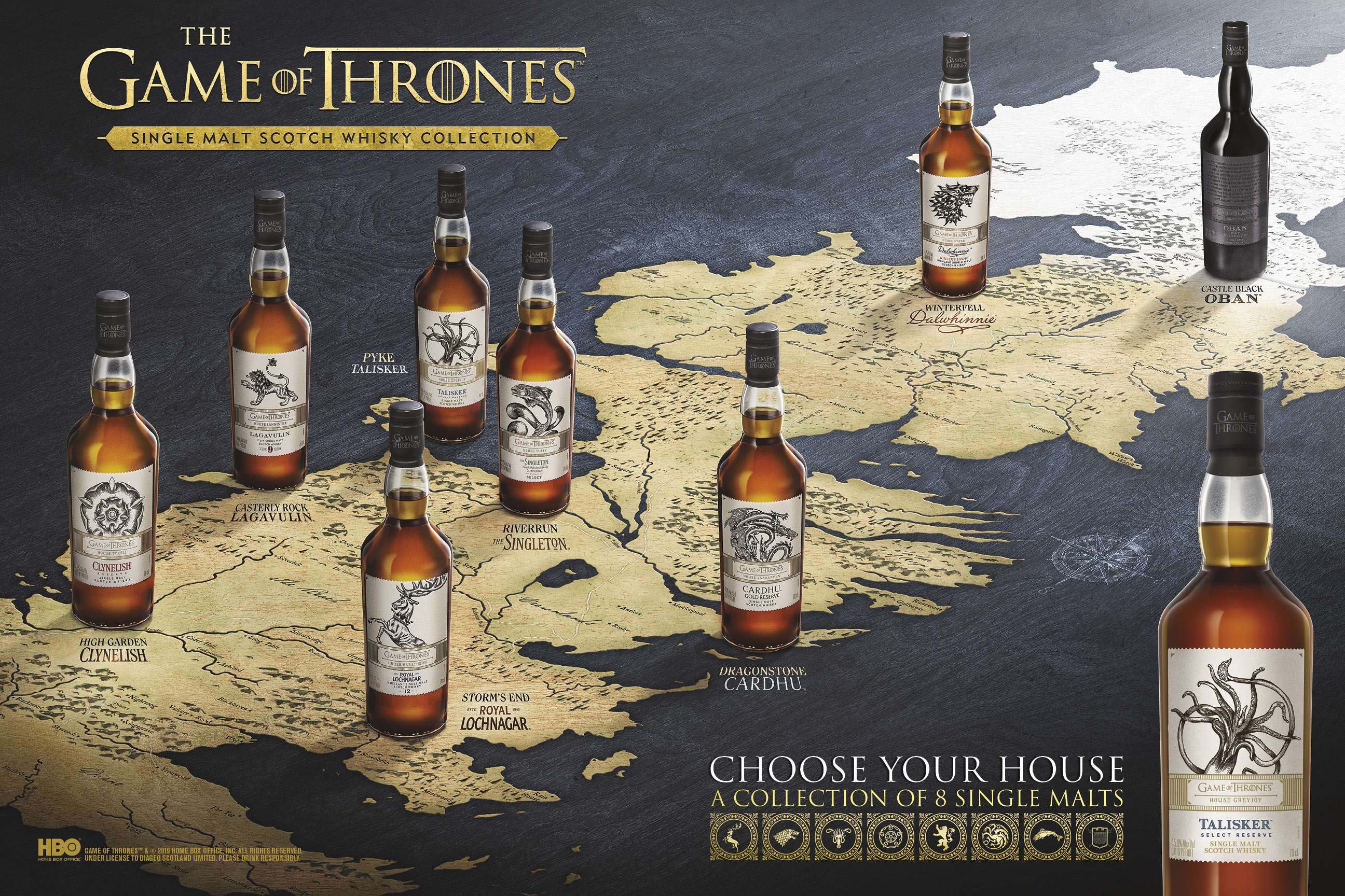 Game of Thrones Whisky on Amazon