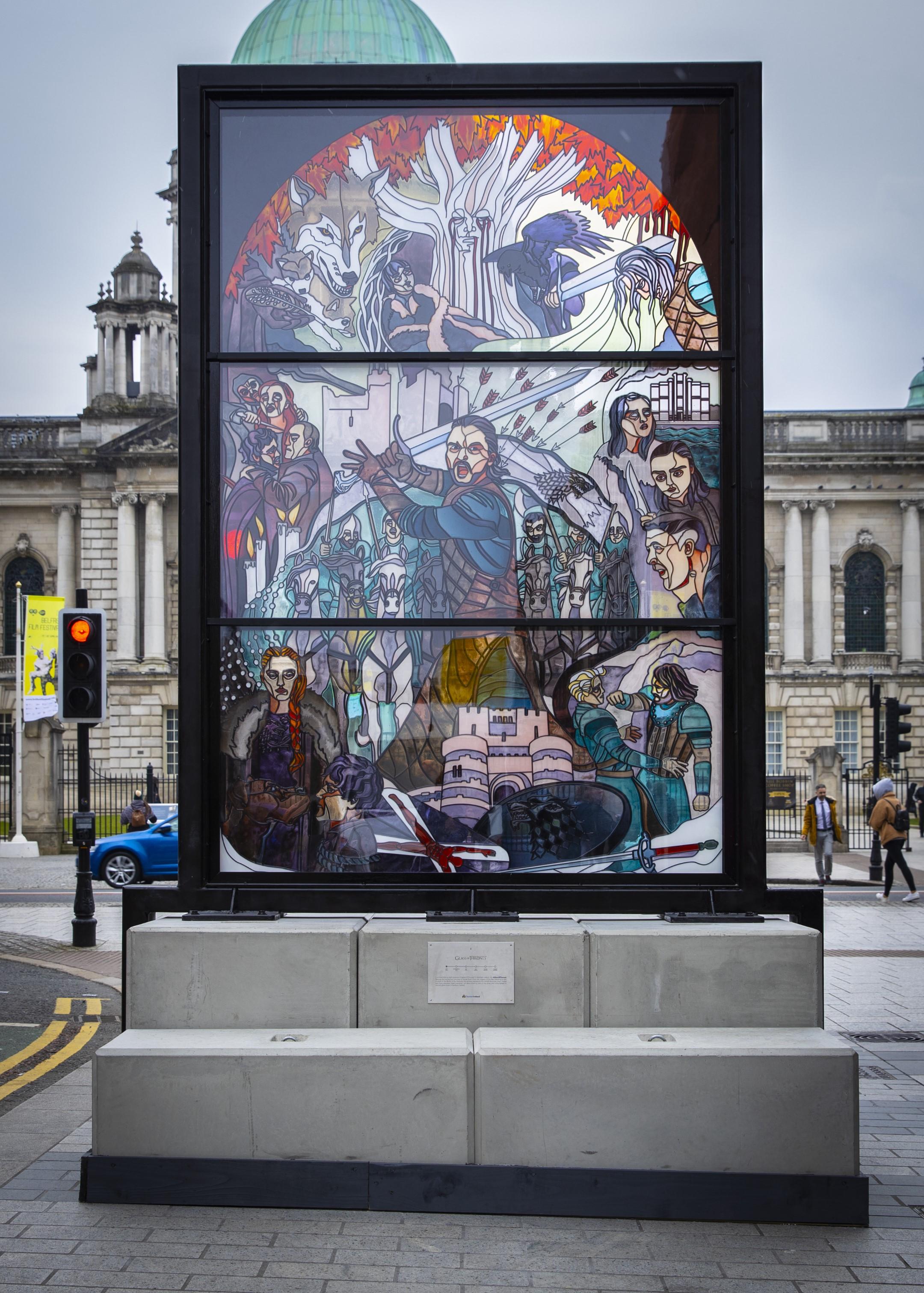 Glass of Thrones in Belfast