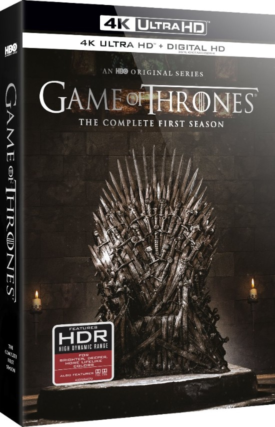 Game of Thrones 4K Available for Pre-order