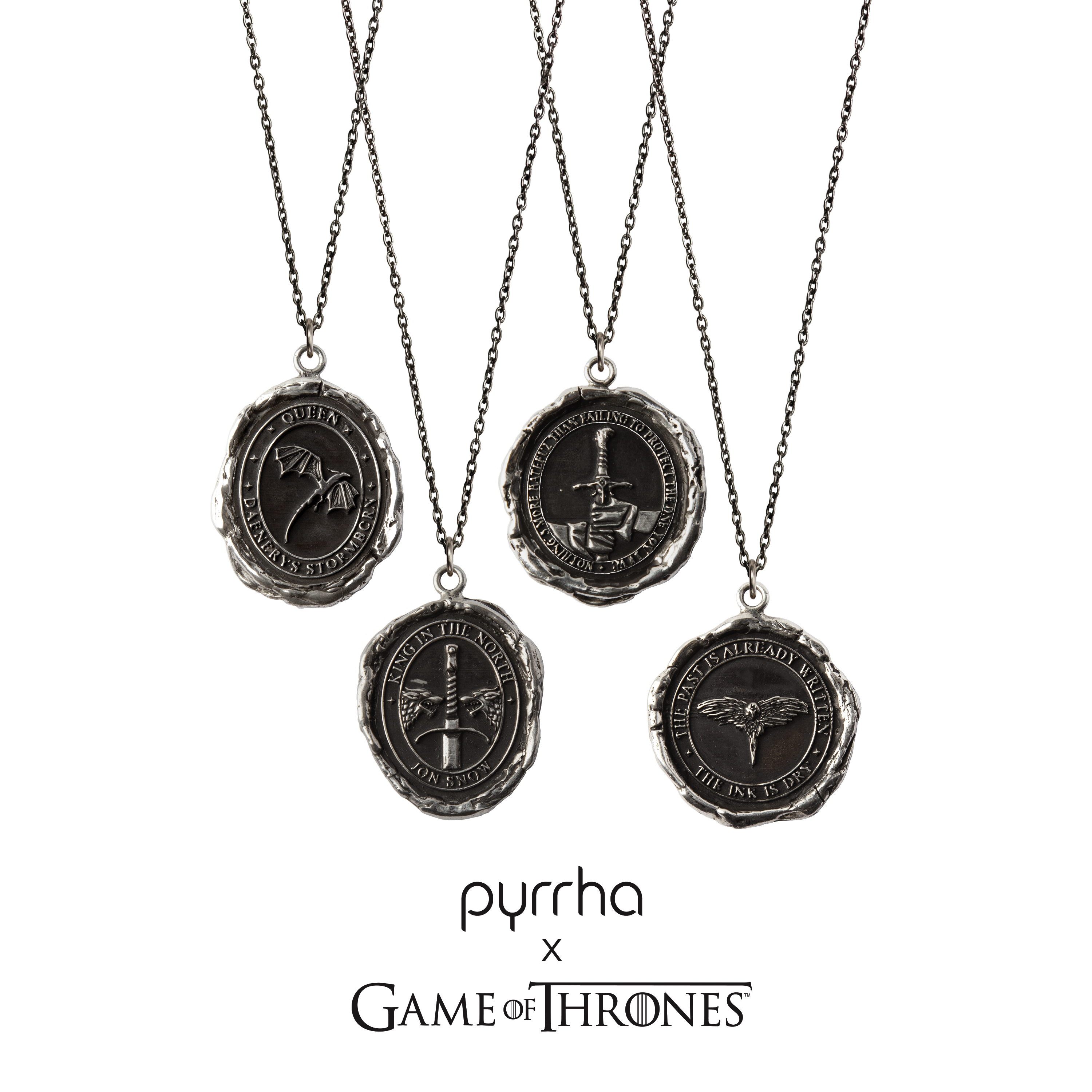 Pyrrha Launches New Game of Thrones Talismans